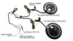 How To Turn Off Daytime Running Lights Jeep Wrangler Cj 40w High Power Cree 7 Inch Round Led