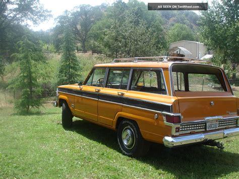 4x4 station wagon 1972 jeep wagoneer rare 4x4 muscle car station wagon