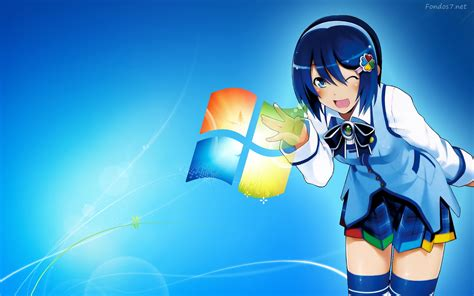 anime computer themes windows 7 windows 7 anime wallpapers hd 5483 wallpaper walldiskpaper