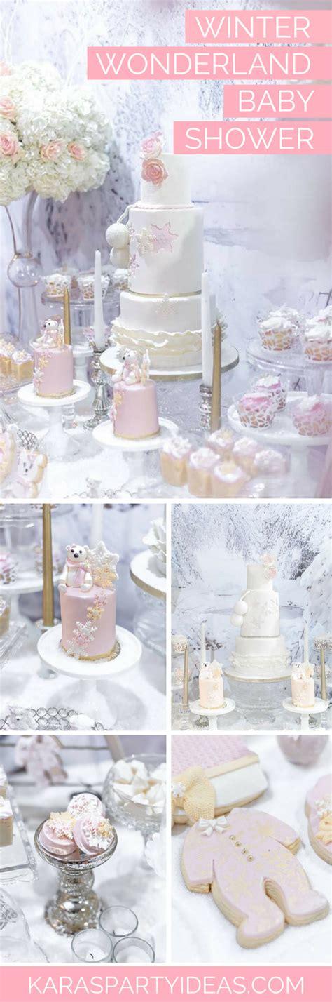 Winter Themed Baby Shower Ideas by Kara S Ideas Winter Baby Shower Kara S