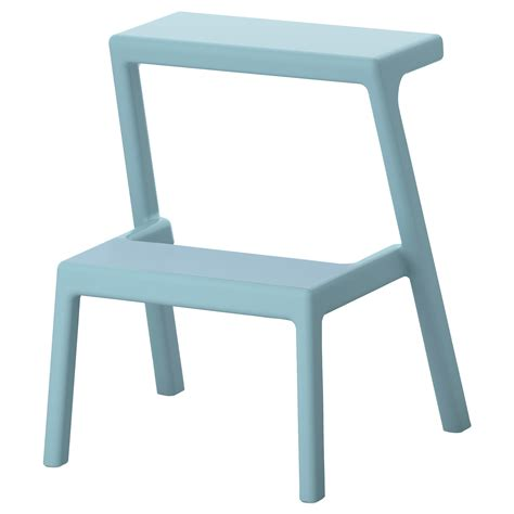 step stool ikea m 196 sterby step stool light blue ikea