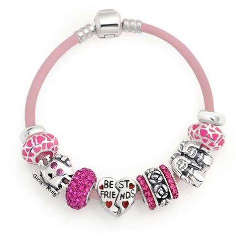 925 silver best friend friendship bead bracelet
