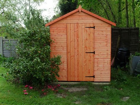 Sheds And Installation by Cousins Conservatories Garden Buildings 8 X 6 Apex