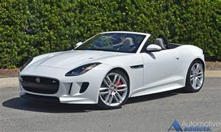 Jaguar Convertibles 2017 Jaguar F Type R Convertible Review Test Drive