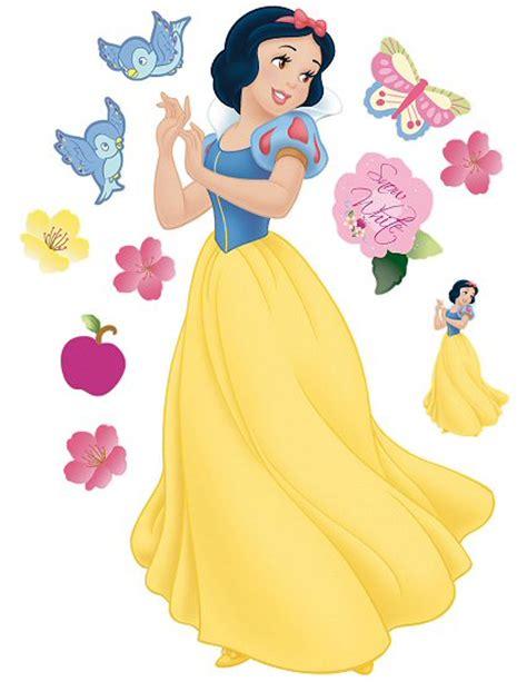 snow white wall stickers snow white roommates wall decal