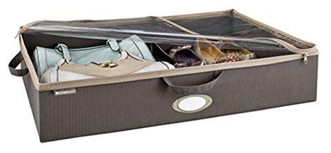 closetmaid under bed storage bag grey closetmaid 31495 under bed fabric storage bag gray