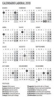 Calendario Laboral Barcelona 2018 El Calendario Laboral De 2018 Da Pie A Tres Puentes Deia