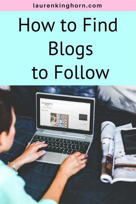 Find To Follow How To Find Blogs To Follow Kinghorn