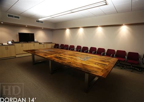 Boardroom Meeting Table Hd Threshing Reclaimed Wood Furniture