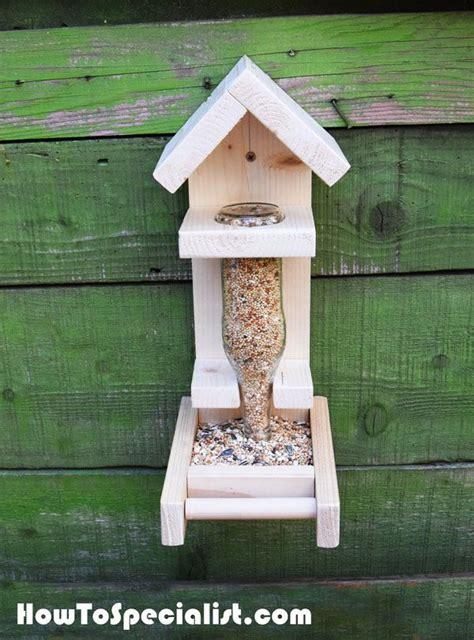build  bottle bird feeder bird houses diy bird