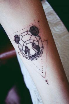tattoo panda geometric by http instagram com yulia gobriy tattoo inspiration