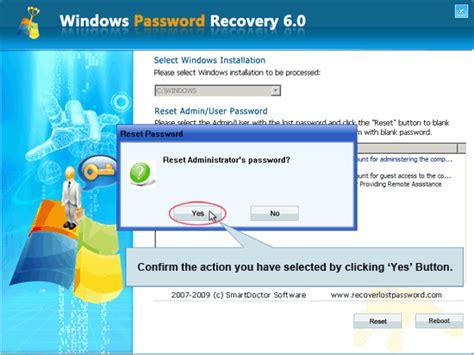windows password reset special tutorial to crack login password with windows password