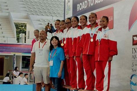 Baju Renang Arena Indonesia renang artistik berharap raih medali pada asian 2018