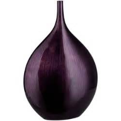Small dark plum purple line bottle vase polyvore