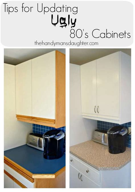 Updating Laminate Kitchen Cabinets 80s Kitchen Update Reveal The Handyman S