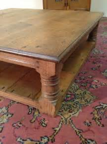 Antiques Atlas Large Oak Coffee Table Large Oak Coffee Tables