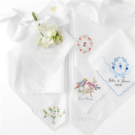 embroidery design for handkerchief hand embroidered heirloom handkerchief mark and graham
