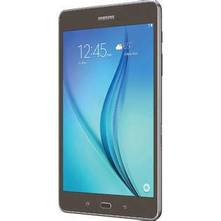 Samsung Galaxy Tab A 80 Inch P355 T355 Tempered Glass Anti Gores Kaca samsung sm t350nzaaxar galaxy tab a 8 0 quot tablet w 16gb memory and android 5 0 smoky titanium