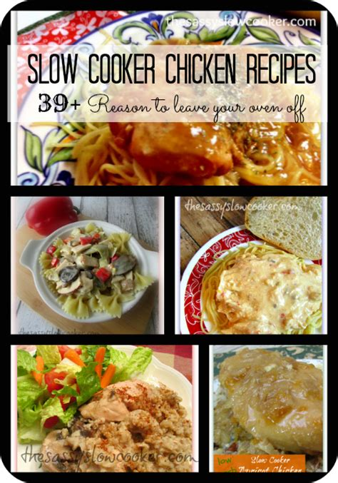 the best slow cooker chicken breast recipes the sassy