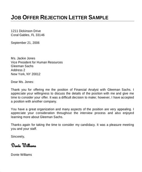 Offer Letter For Joining Sle Offer Letter 7 Exles In Word Pdf