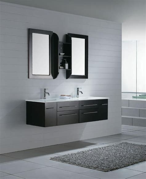 Vanity Furniture Bathroom Home Decor Modern Bathroom Vanity Cabinets Contemporary Breakfast Table Stand Alone Tubs With