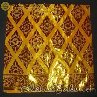 Kain Prada Wajik Dan Embos kain prada wajik kuning