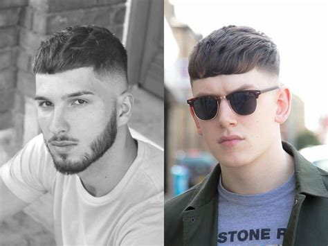 french male hairstyles french crop 轻熟短浏海 简洁洒脱