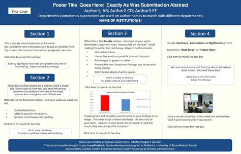 powerpoint research poster template poster templates poster template