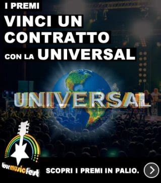 universal casa discografica vinci un contratto con la universalwin a contract with the