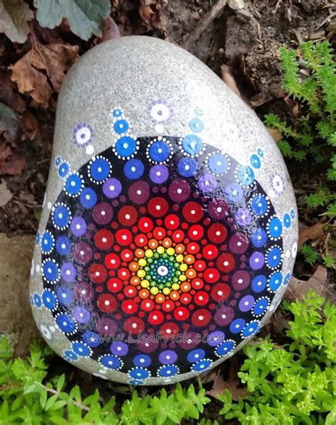 Painted Rocks For Garden The World S Catalog Of Ideas