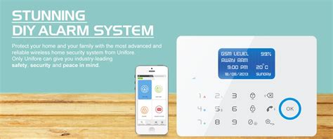 self monitored hardwired wireless alarm system protect