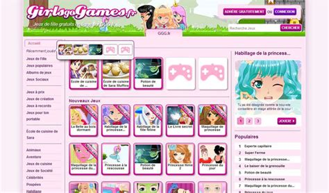 girlsgogames fr jeux de fille info