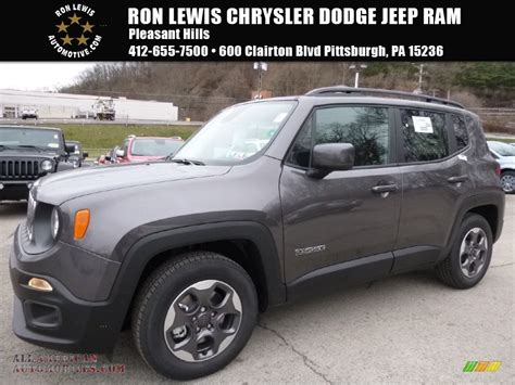 granite jeep renegade 2016 jeep renegade latitude in granite crystal metallic