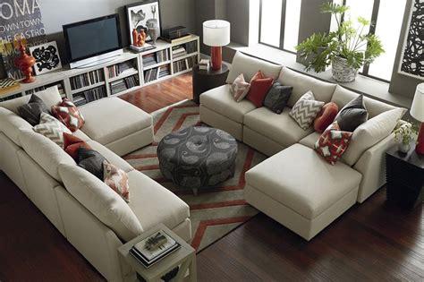 Living Room Sets Bassett Beckham U Shaped Sectional The Social Furniture And Fabrics