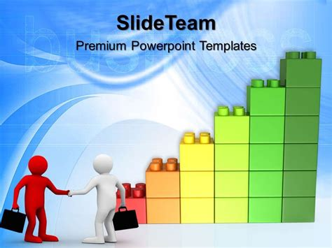 building powerpoint templates large building blocks powerpoint templates lego graph