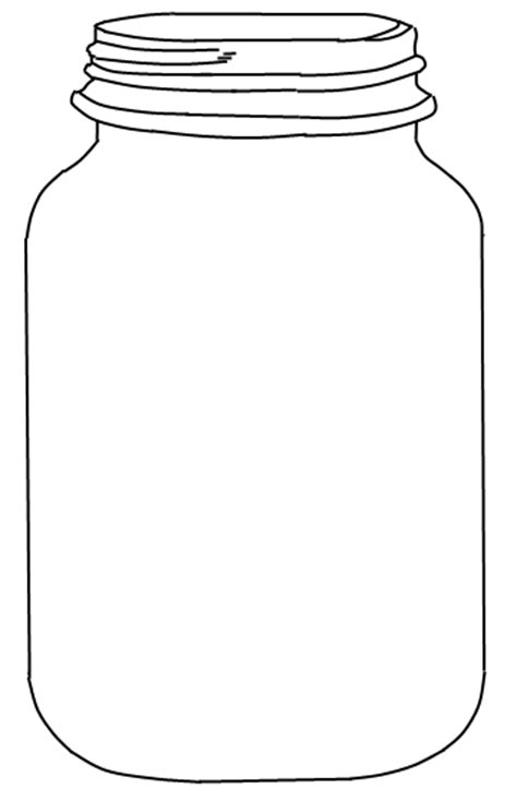 Bug Jar Coloring Page sweetly scrapped jar i jars free printable