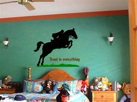 Kids Room Wall Murals horse wall decal quote wall sticker girls bedroom pony
