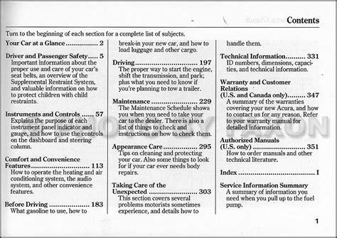 service manual accident recorder 2004 acura tsx free book repair manuals service manual 2004 acura tsx owners manual original