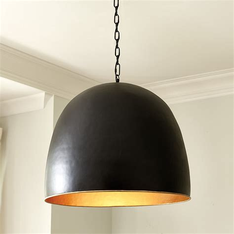 dome pendant light kent dome 1 light pendant ballard designs
