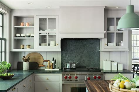Soapstone Countertops Ta Architect Visit A Renovated Farmhouse In Bedford With