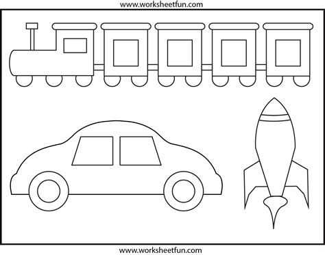 preschool coloring pages transportation coloring worksheet transportation preschool worksheets