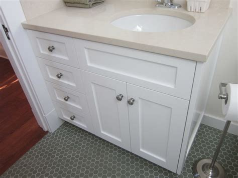 Shaker Style Remodel In Palo Alto Traditional Bathroom Shaker Style Bathroom Furniture