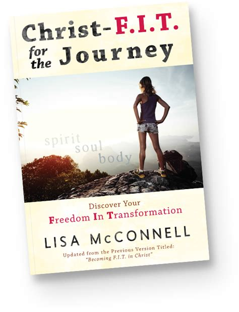 getting fit for jesus books f i t for the journey author mcconnell