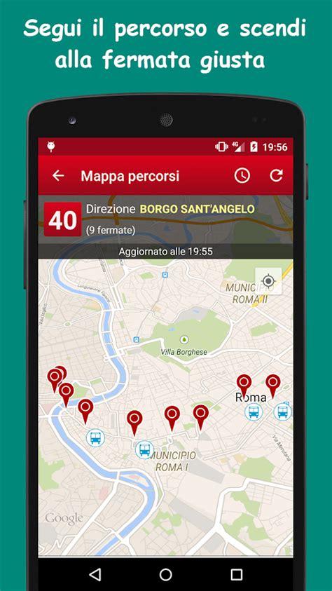 atac mobile tempi di attesa probus roma autobus orari atac app android su play