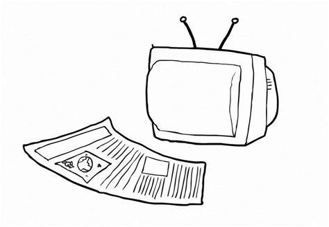 imagenes para colorear los medios de comunicacion maestra de infantil medios de comunicaci 243 n para colorear