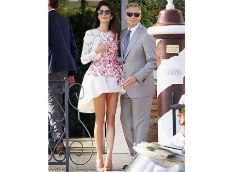 amal alamuddin hair extensions amal clooney spends lunch money on more hideous clothes
