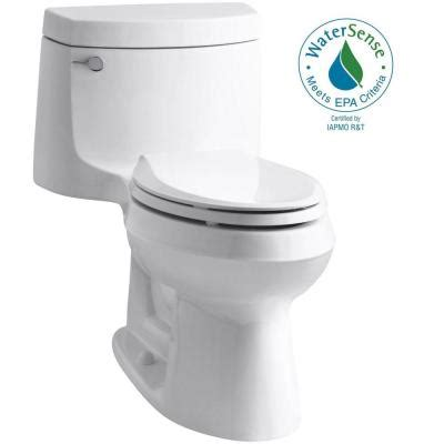 Comfort Toilets Home Depot by Cimarron Comfort Height 1 1 28 Gpf Elongated Toilet