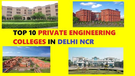 Mba Universities In Delhi Ncr by Top Engineering Colleges In Delhi Rank Wise