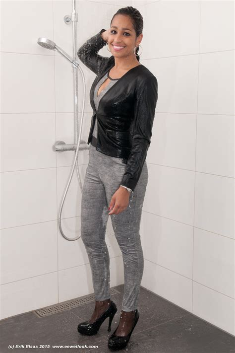 Hq 15958 Denim Jumpsuit wwf 71041 1 re images shower in and jumpsuit wetlook world forum