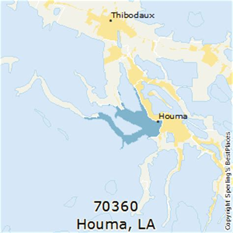 zip code map houma la best places to live in houma zip 70360 louisiana